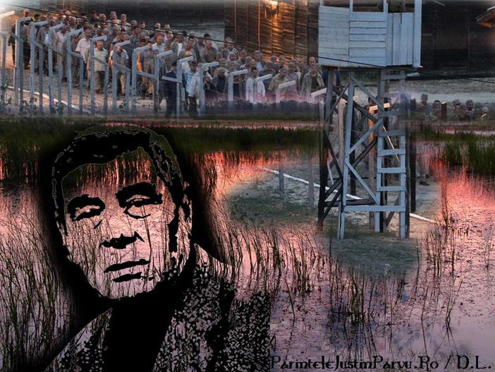 Actorul Mitica Popescu despre Parintele Justin Parvu Marturisitorul - Grafica Dinu Lazar
