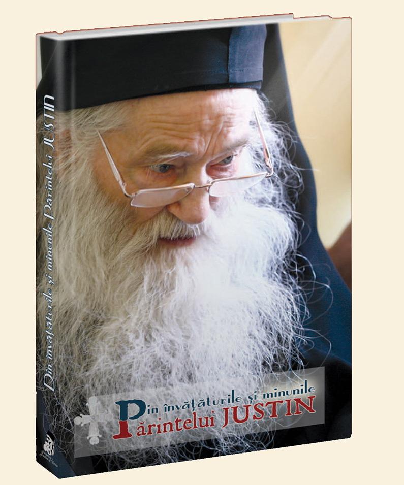 Coperta Invataturi Minuni Parintele Justin - Fundatia Petru Voda