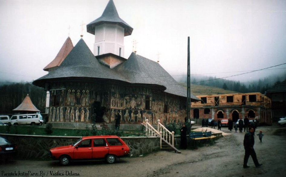 Parintele Justin Parvu Ro - Manastirea Petru Voda - Foto Arhiva 22