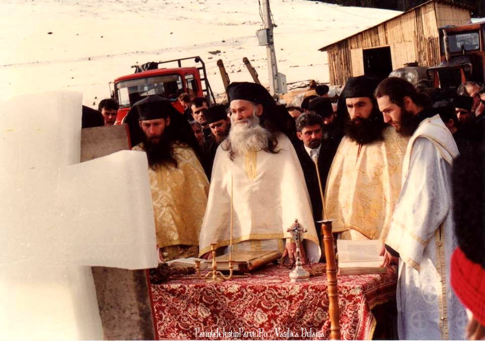 Parintele Justin Parvu Ro - Manastirea Petru Voda - Foto Arhiva 5