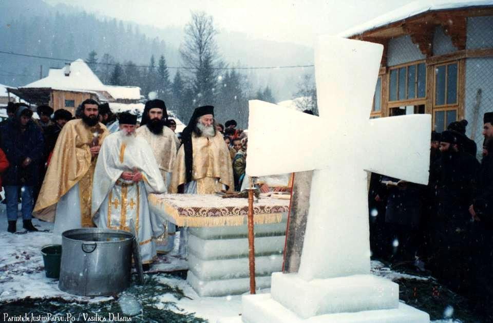Parintele Justin Parvu Ro - Manastirea Petru Voda - Foto Arhiva 6