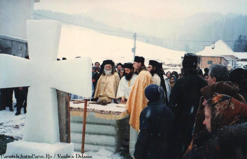 Boboteaza cu Parintele Justin Parvu de Vasilica Dulama 2