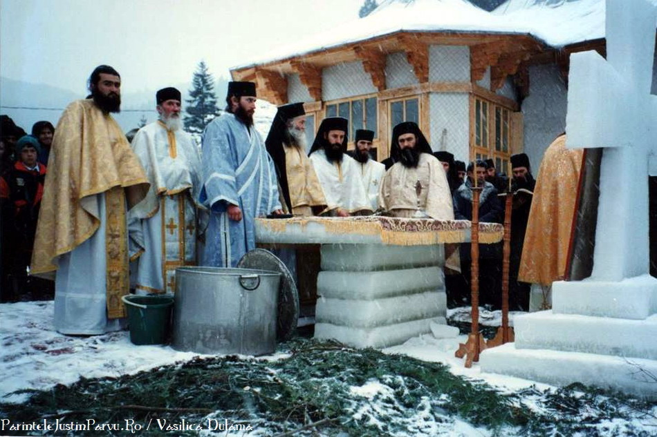 Boboteaza cu Parintele Justin Parvu de Vasilica Dulama 4