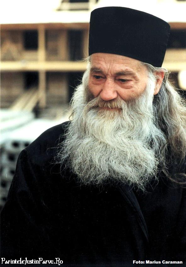 1997 Parintele Justin Parvu Ro 6 foto Marius Caraman