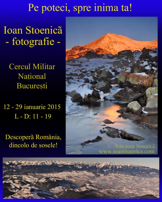 Expo Ioan Stoenica - Centrul Militar National - 2015