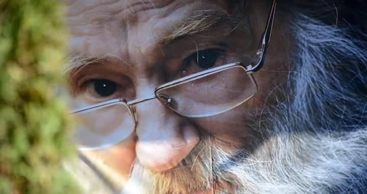 Parintele Justin Parvu la Petru Voda -  Afis de Cristina Nichitus Roncea