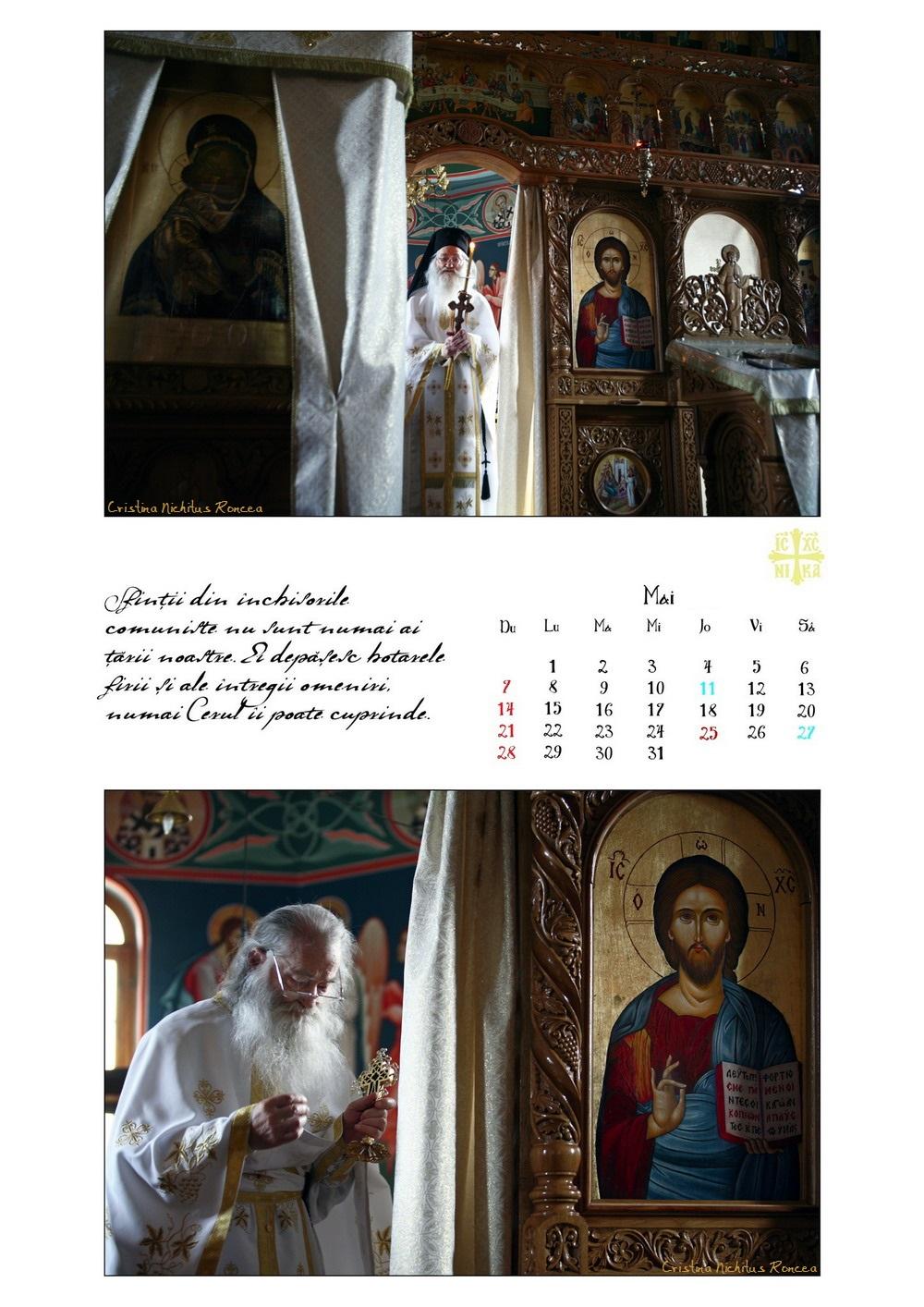 Calendar 2017 Parintele Justin Parvu Ro - Foto Cristina Nichitus Roncea si Manastirea Petru Voda 07