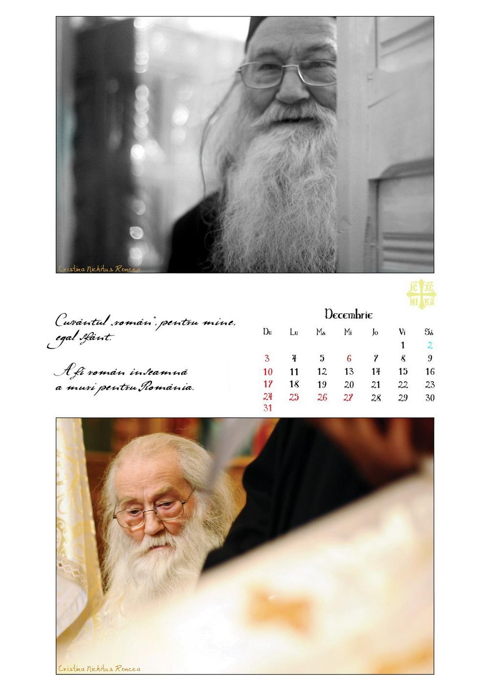 Calendar 2017 Parintele Justin Parvu Ro - Foto Cristina Nichitus Roncea si Manastirea Petru Voda 14