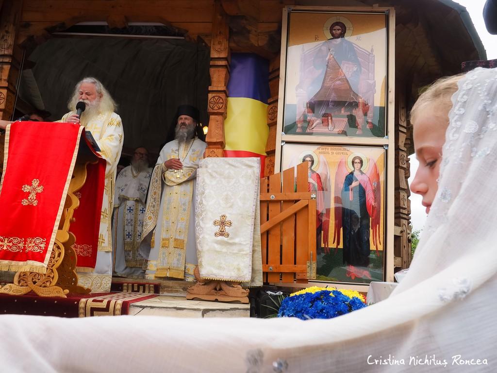 Pomenirea de 5 ani a Parintelui Justin Parvu - foto Cristina Nic